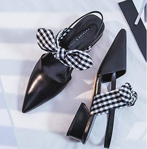 Basso Colori Estivi Scarpe Colore Shoe Bowknot incantati con Dimensioni con Sandali store 2 34 Tacco Yx4Iw