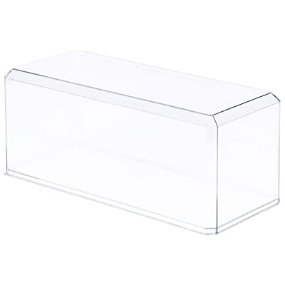 "Pioneer Plastics Clear Acrylic Display Case for 1:18 Scale Cars, 13"" x 5.5"" x 5"" (Mailer Box), Pack of 9: Home & Kitchen"