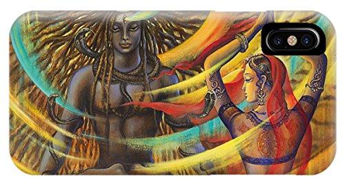 Shiva Case - iPhone X Slim Case Shiva Shakti by Pixels