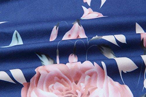 Casual Romper Off Wide Plage Spaghetti Longue Femme Playsuit Dame Pants Combinaison Mode Unie Élégant Leg Couleur Loisir Battercake Dos Eté Blau Shoulder Nu xtv04nqwHH