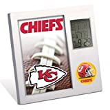 KANSAS CITY CHIEFS WinCraft Thermometer Desk Clock