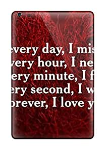 Hot Case Cover Love Quotes Sms Ipad Mini Protective Case