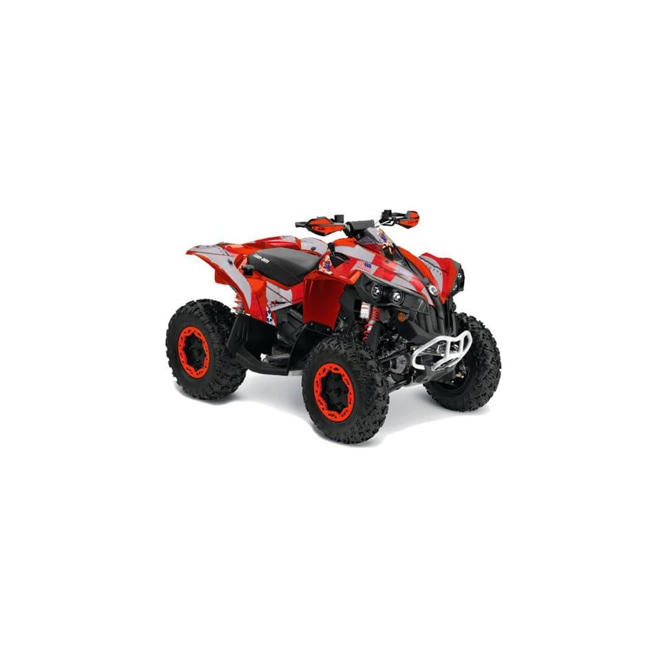 AMR Racing Can Am Renegade 800x 800r ATV Quad Graphic Kit   Bone Collector Black