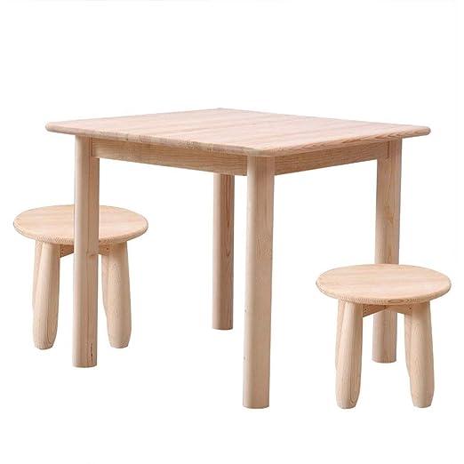 Juegos de mesas y sillas Mesa para Niños Mesa Pequeña De Juguete ...