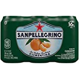 San Pellegrino Sparkling Fruit Beverages, Clementina (Clementine), 11.15 oz Cans (Pack of 6)