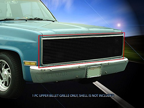 Fedar 1981-1988 Chevy/GMC Pickup Replacement Billet Grille 1-pc Black