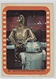 #8: See-Threepio and Artoo-Detoo (Trading Card) 1977 Topps Star Wars - Stickers #47