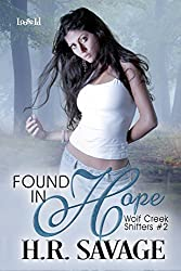 Found in Hope (Wolf Creek Shifters Book 2)