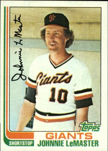 - 1982 Topps Baseball Card #304 Johnnie LeMaster