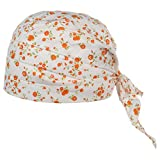 Turban en Coton Seeberger bandana foulard (taille unique – orange)