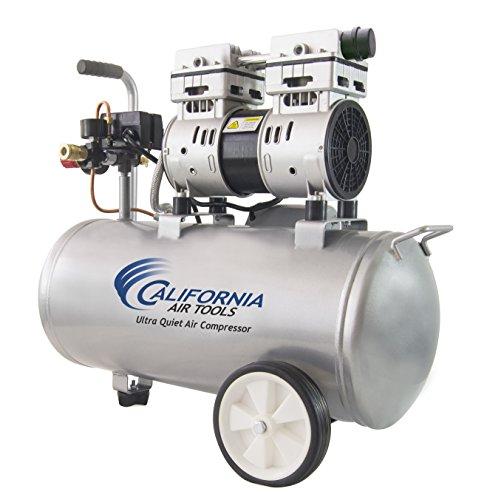 California Ultra & 1.0 hp Steel Air gal, Silver