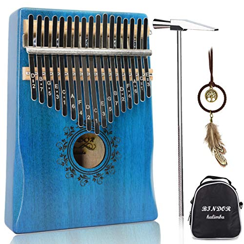 17 Key Kalimba Thumb Piano, Bind...