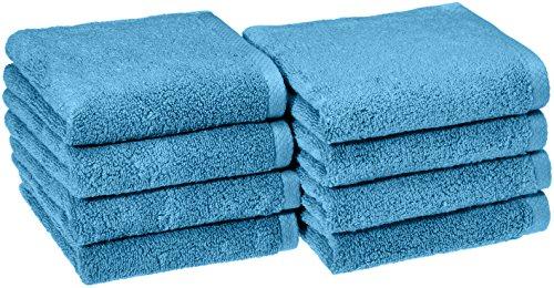 Best Royal Hand Towels - AmazonBasics Quick-Dry Hand Towels, 100% Cotton,