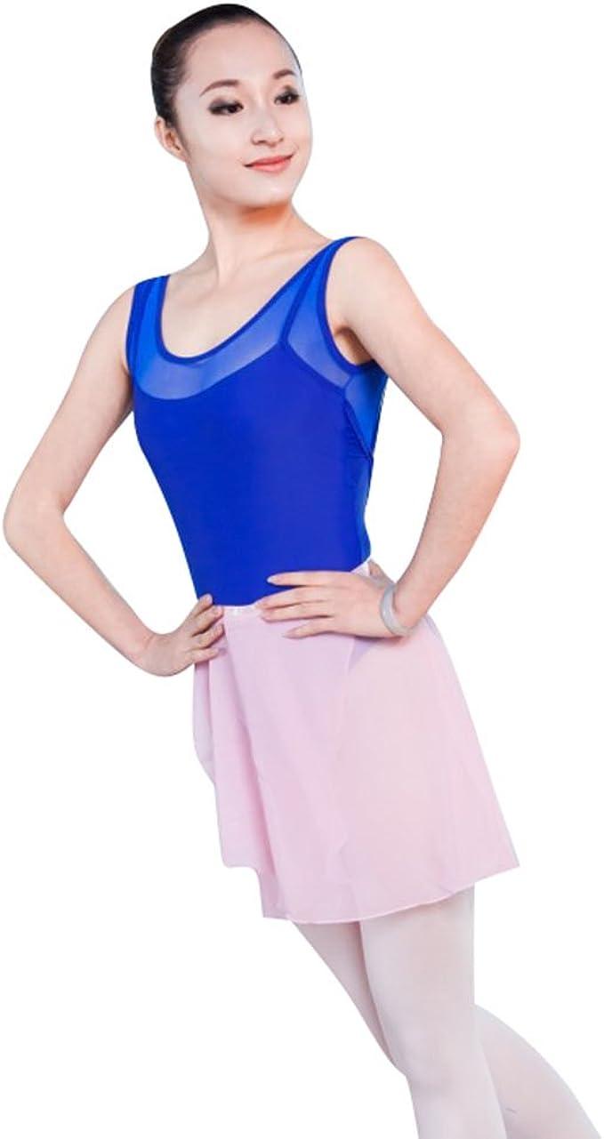 ZKOO Maillot de Danza Gimnasia Leotardo Clásico Elástico de Ballet ...