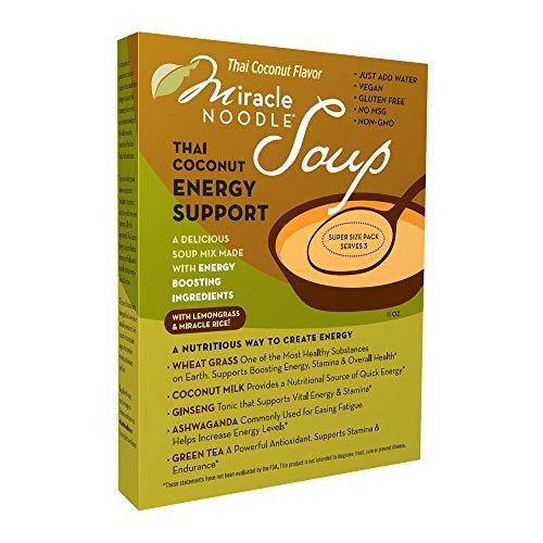 Miracle Noodle Energy Soup, Thai Coconut, 11.5 Ounce