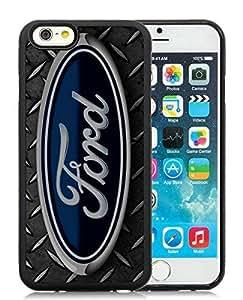Ford logo 2 Black Cool Photo Custom iPhone 6 4.7 Inch TPU Phone Case