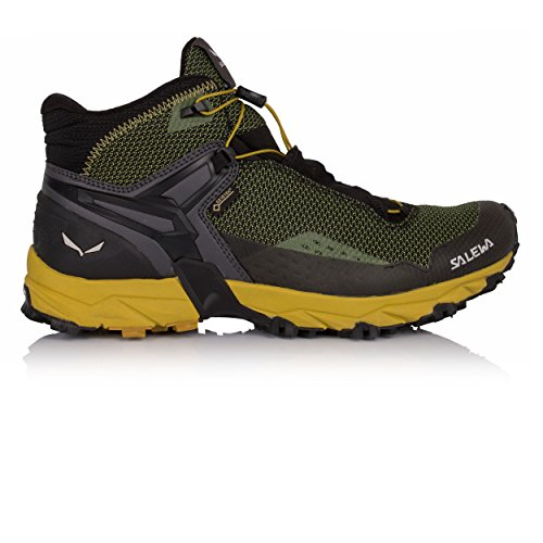 Salewa Ultra Flex Mid Gore-TEX Mountain Training Shoes - 8.5 - Black