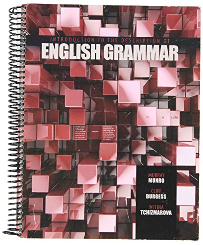 Introduction to the Description of English Grammar