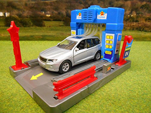 Brandweerman Sam Garage : Alpha toys ltd scale kids globe garage car wash with light