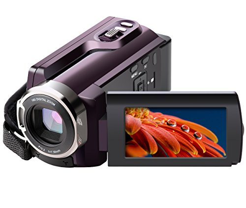 4K Camcorder, Besteker Video Camcorder 48MP Ultra HD Video C