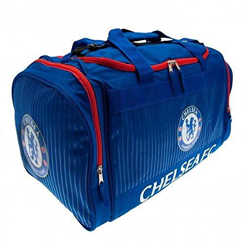 Chelsea FC Offizielle Fußball Geschenk Reisetasche–A Great Weihnachten/Geburtstag Geschenk Idee für Männer und Jungen
