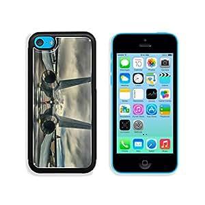 Flight Plane Dark Cloud Rain Punktail's Collections Apple iPhone 5c Cover Premium Aluminum Design TPU Case Open Ports Customized Made to Order