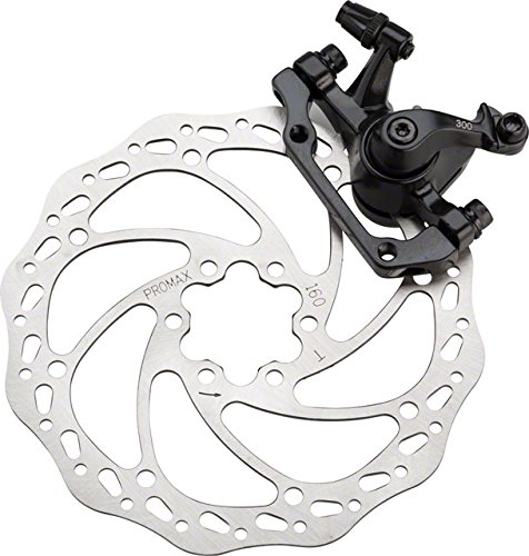 Promax DSK-300 Mechanical Disc Brake IS Mount With 160mm Rotor Black by Promax