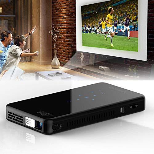 ミニプロジェクター 1080Pビデオ DLP ワイヤレスプロジェクター WiFi ブルートゥースサポートHDMI USB TFカード 台形補正 1080PフルHD対応 854*480解像度 2900 ルーメン  200インチホームシアター パソコン/スマホ/タブレット/ゲーム機/DVDプレイヤーなど接続可能 USB/HDMI/TFカード/イヤホンサポート 充電式バッテリー内蔵 日本語取説 (UK RAM1gROM8g) B07T3KWPMS  UK RAM1gROM8g