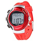 Watch, GOODCULLER (You) Unique Sports Mens Heart Rate Monitor Waterproof Fitness Calories Counter Red