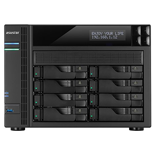 ASUSTOR AS6208T 8-Bay INTEL Quad-Core NAS