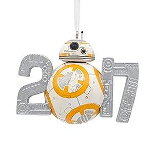Amazon.com: Disney Star Wars BB-8 Dated 2017 Holiday Christmas ...