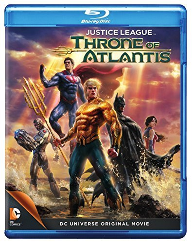 Justice League: Throne of Atlantis (Blu-ray + DVD) by Warner Home Video