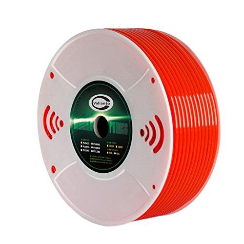 (Valianto 1410-1 Red Air PU Hose Pipe Tube ID 10 mm OD 14 mm, 100 Meter)
