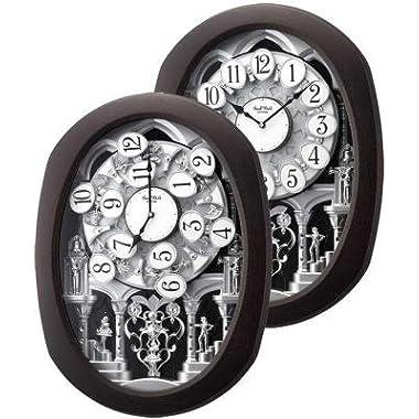 Rhythm Clocks Encore Espresso Wall Clocks