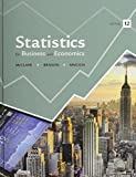 Statistics and Student's Solutions Manual, McClave, James T. and Benson, P. George, 0321950798