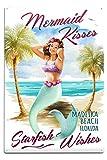 Best Lantern Press Wishes Signs - Lantern Press Madeira Beach, Florida - Mermaid Kisses Review