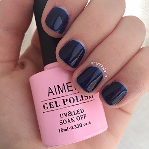 Gel Nail Polish Qatar: AIMEILI Soak Off UV LED Gel Nail Polish