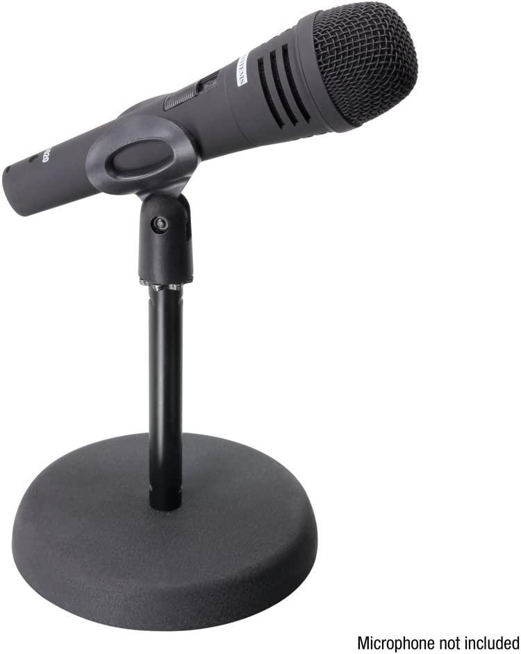 ah Stands S8BB Adam Hall Stands - Soporte de micrófono para mesa ...