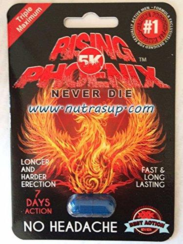 Rising Phoenix 5K Triple Maximum Male Enhancement Sexual 6 Pills ()