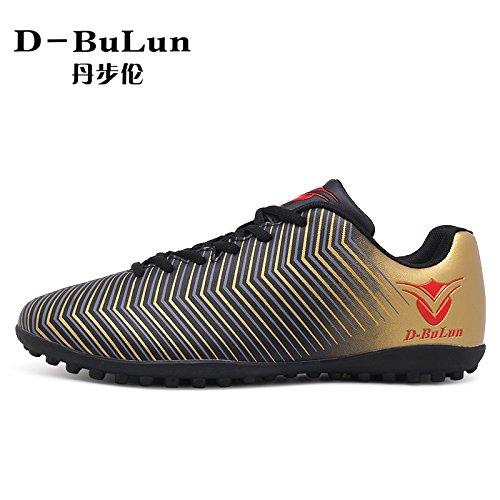 Xing Lin Fußballschuhe Neue Heranwachsenden Jungen Mädchen Gebrochen Spike Fußball Schuhe black gold