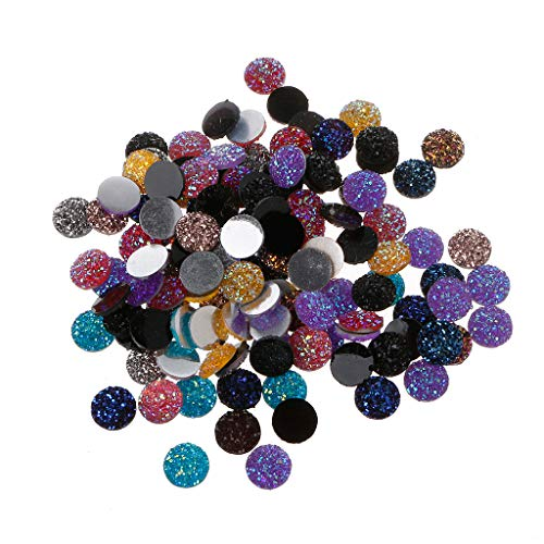 yuuups 120PCS Resin Mermaid Fish Scales Cabochons Mixed for sale  Delivered anywhere in Canada