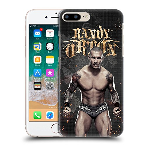 Official WWE LED Image Randy Orton Hard Back Case Compatible for iPhone 7 Plus/iPhone 8 Plus (Images Of John Cena And Randy Orton)