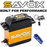 #9: Savox SA-1230SG Tall Digital Steel Gear Servo + Powerhobby Glitch Buster + Aluminum Horn