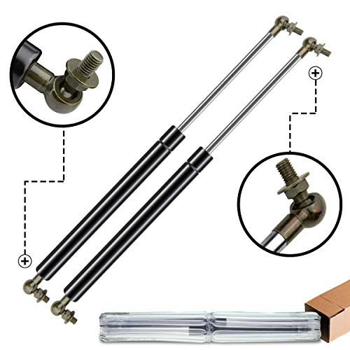 A-Premium Hood Lift Supports Shock Struts for Toyota Land Cruiser Landcruiser 100 Series 1998-2007 LX470 (Best Place To Get Shocks And Struts Replaced)