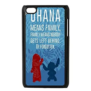 High Quality Phone Case FOR IPod Touch 4th -Lilo & Stitch - Ohana-LiuWeiTing Store Case 19
