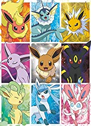 Buffalo Games - Pokemon - Eevee's Elements - 100 Piece Jigsaw Pu