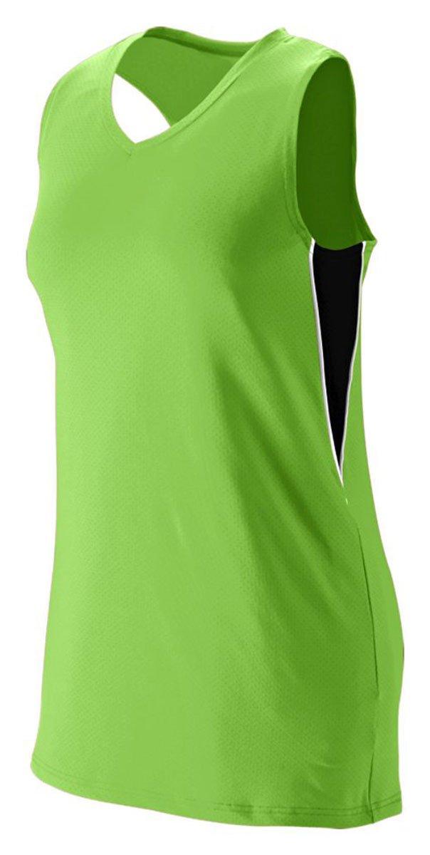 Augusta Sportswear Girls ' Inferno Jersey B00HJTKEWOライム/ブラック/ホワイト Medium