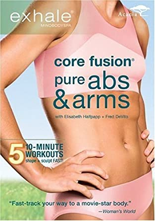 EXHALE CORE FUSION PURE ABS ARMS