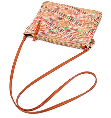 Summer Lightweight Meiyaa Straw Bag and Lady Shoulder A Bag Woven A Tote Handwoven Women Iw4pgt4q