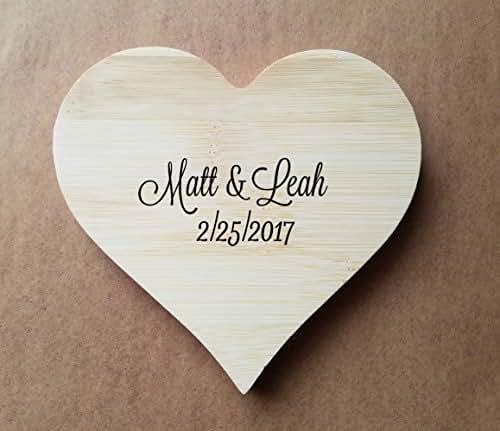 Make Your Own Wedding Gift: Amazon.com: Custom Heart Coasters, Personalized Wedding